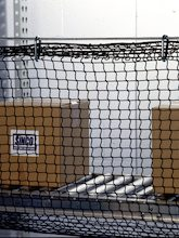 3 x 50 ft. (0.9 x 15.2 m) conveyor guard net.
